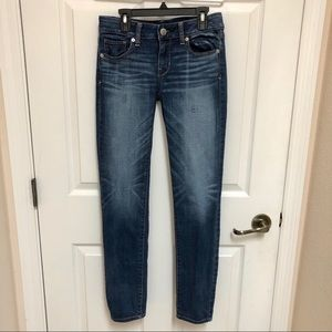 🦅 AEO American Eagle Skinny Super Stretch Size 2